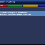 Nach dem Laden Software-Katalogs …